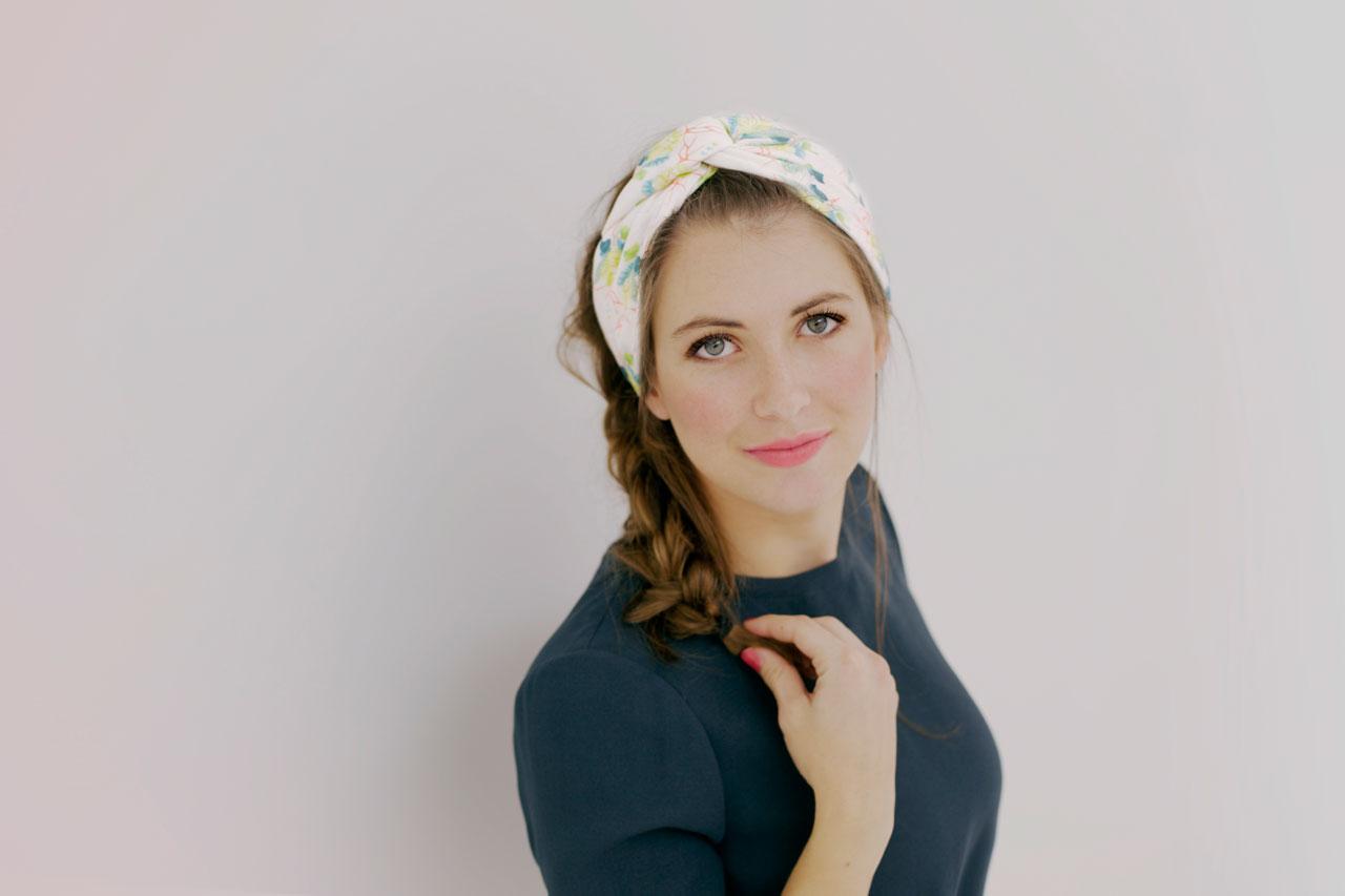 Bekannt Découvrez 3 façons de nouer un foulard, avec l'Atelier d'AL • Shandor LJ15