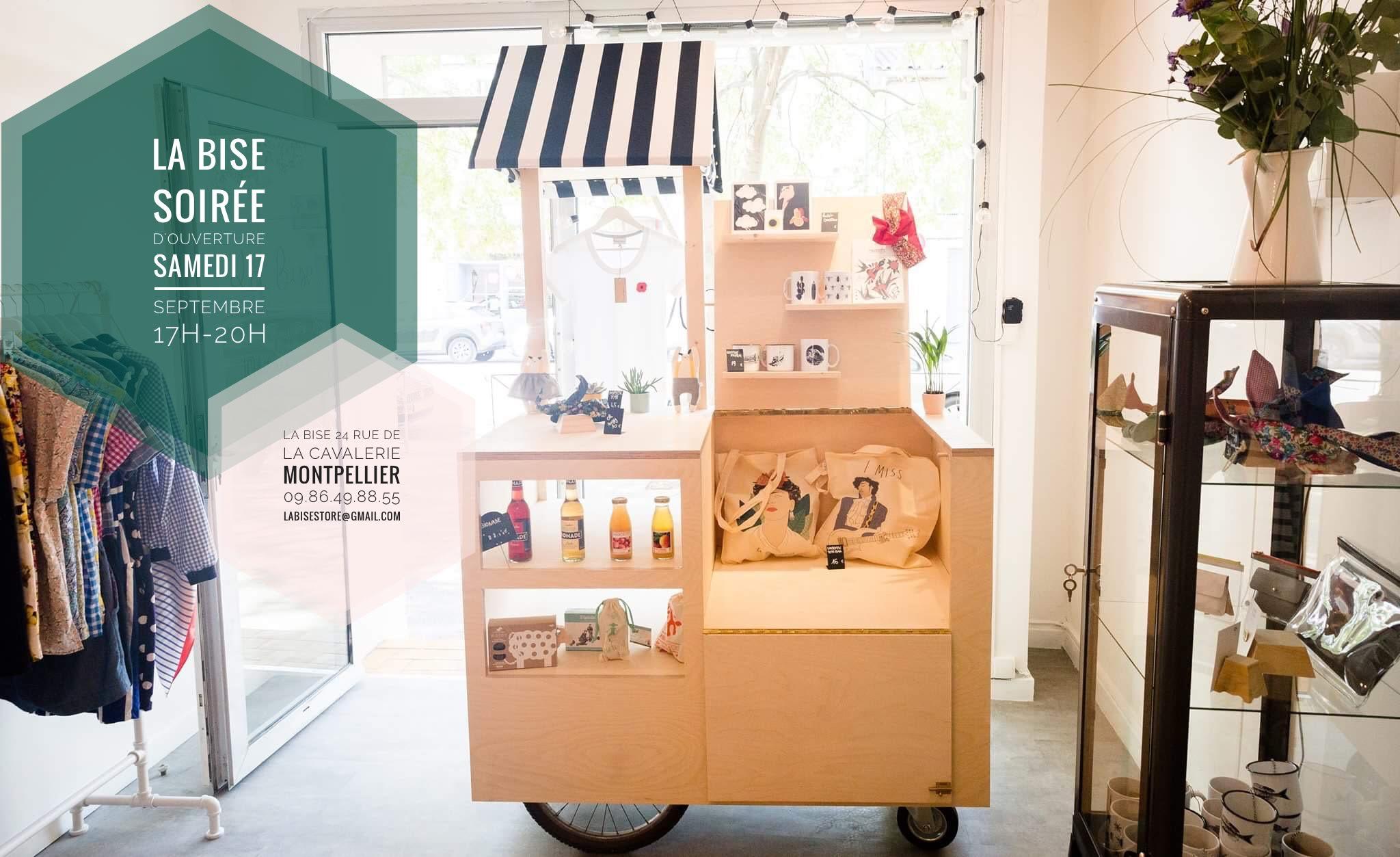 LA BISE concept store Montpellier