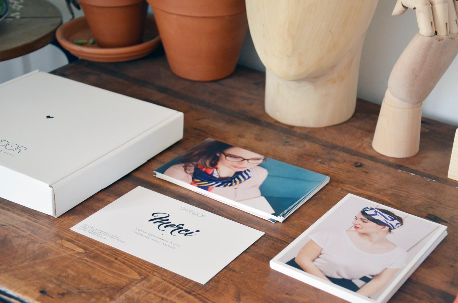 Atelier Shandor cartes de remerciement