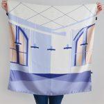 Shandor foulards en soie made in France, mode éthique, mode responsable