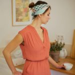 Shandor headband foulards en soie made in France, mode éthique, mode responsable