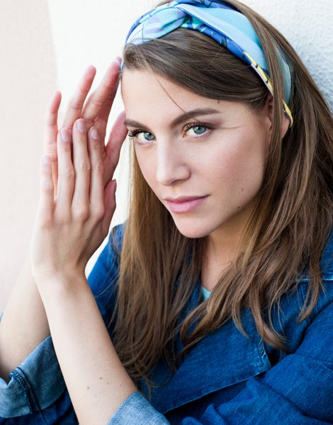 Shandor motif Matisse headband en coton bio