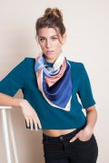 Shandor collection foulard soie made in France