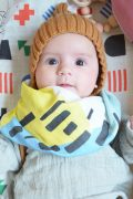 Lange bébé en coton bio, cadeau de naissance Shandor