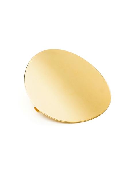 Barrette ronde or shandor bijoux de lu