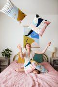 Shandor Home housse de coussin en velours carré made in France