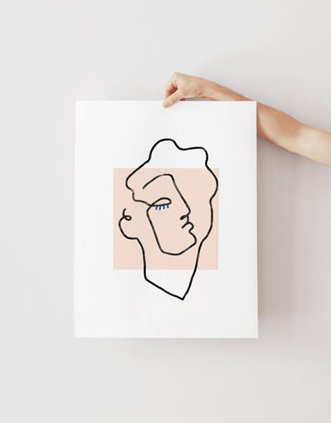 Shandor illustration affiche poster sur papier d'art