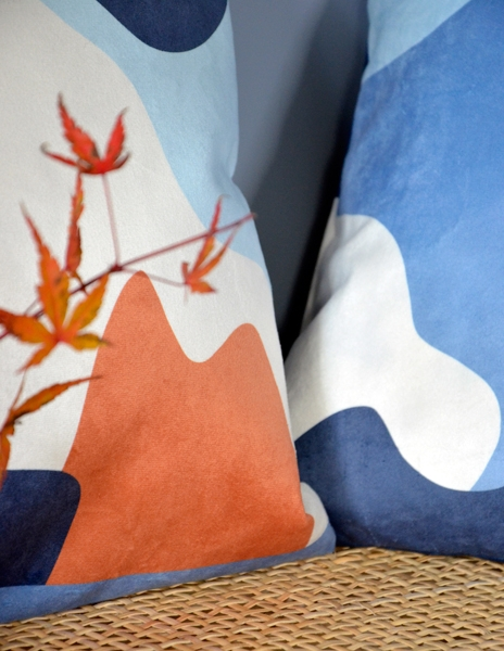 Shandor housse de coussin velours made in France