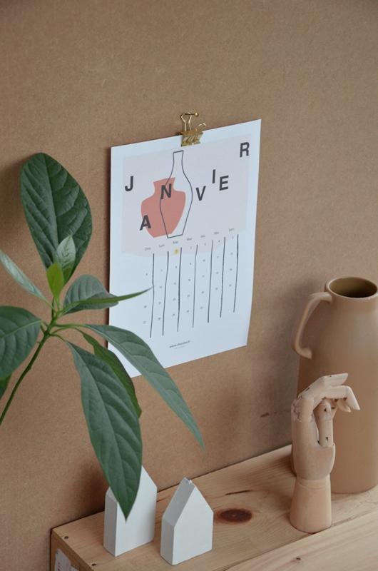 Shandor calendrier 2019 gratuit à imprimer