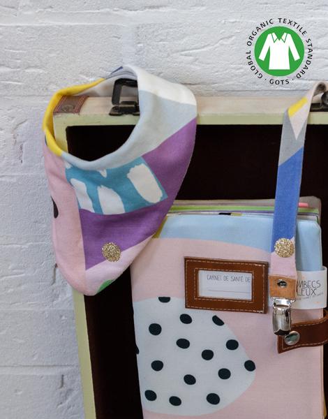 bandana bébé coton bio shandor bonbecs fabuleux