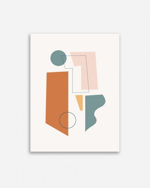 Affiche Shandor Concerto Terracotta