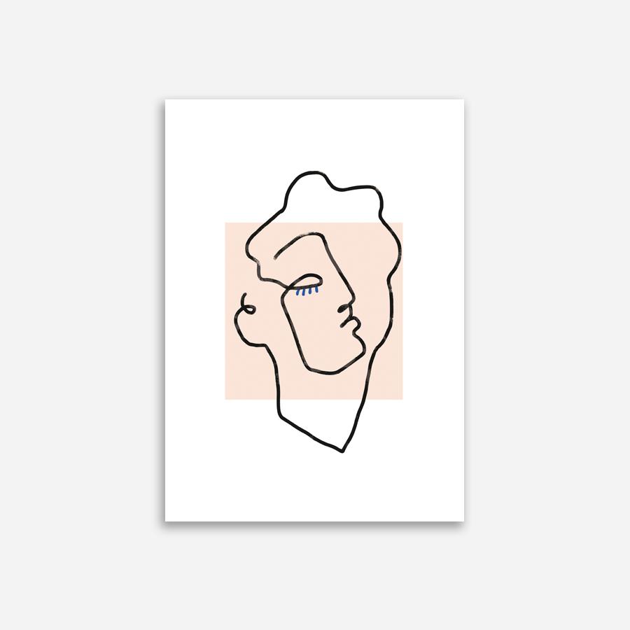 Shandor Affiche Apollon beige