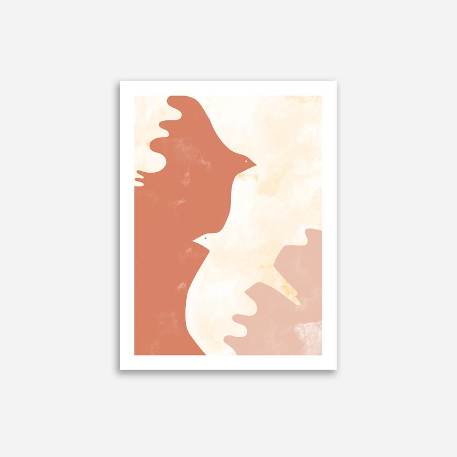 Shandor-affiche- oiseaux-terracotta