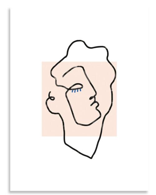 Affiche Apollon Beige