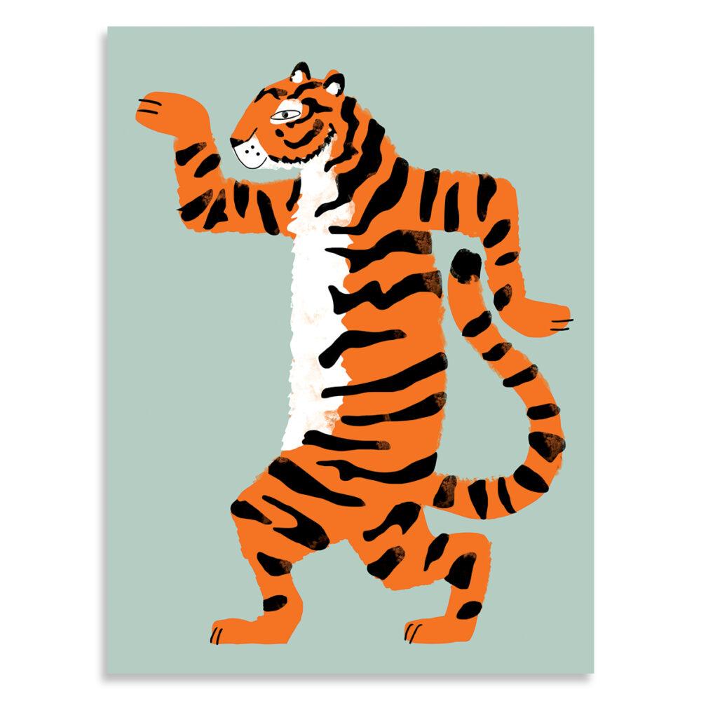 Affiche aristide le tigre, Made in France