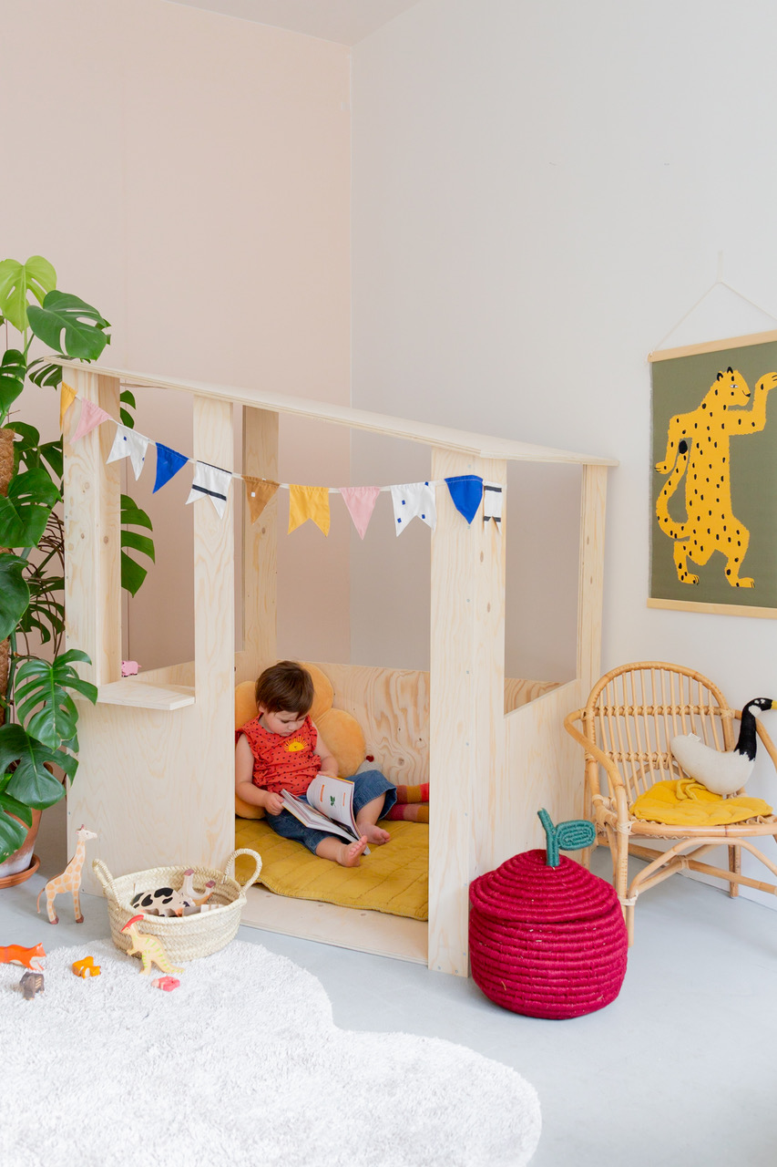 Studio ADC DIY cabane enfant tenture Shandor