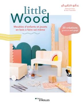 little wood livre studio ADC DIY meubles et objets pour enfants