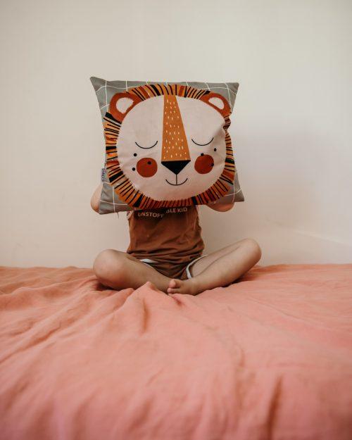 Shandor coussin Lion Leon