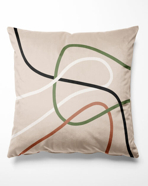 Coussin lignes, Made in France