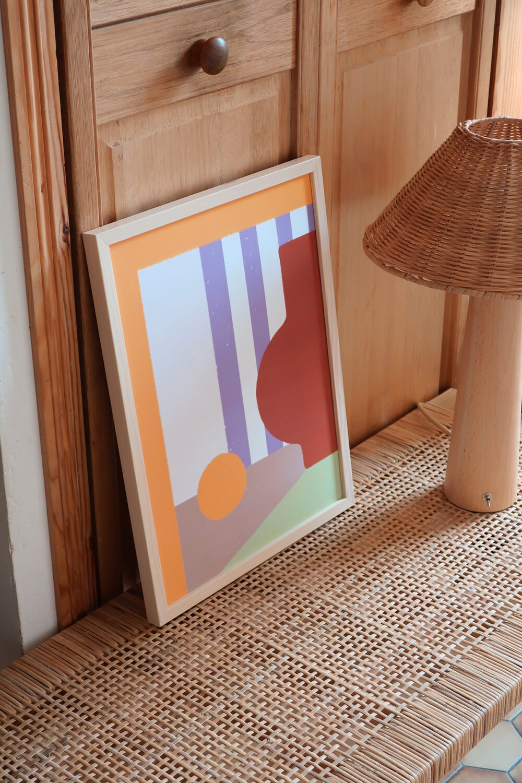 Affiche Pottery N°1 Graphique et colorée